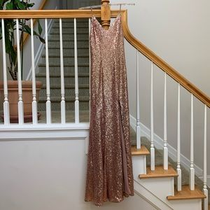 Sequined Formal Dress